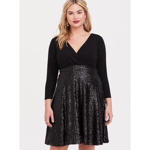 Torrid sequin Dress Size 3X
